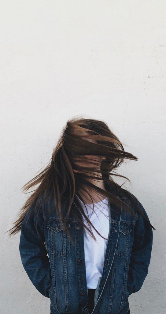 Mannequin femme cheveux longs