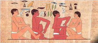 Réflexologie Egypte ancienne