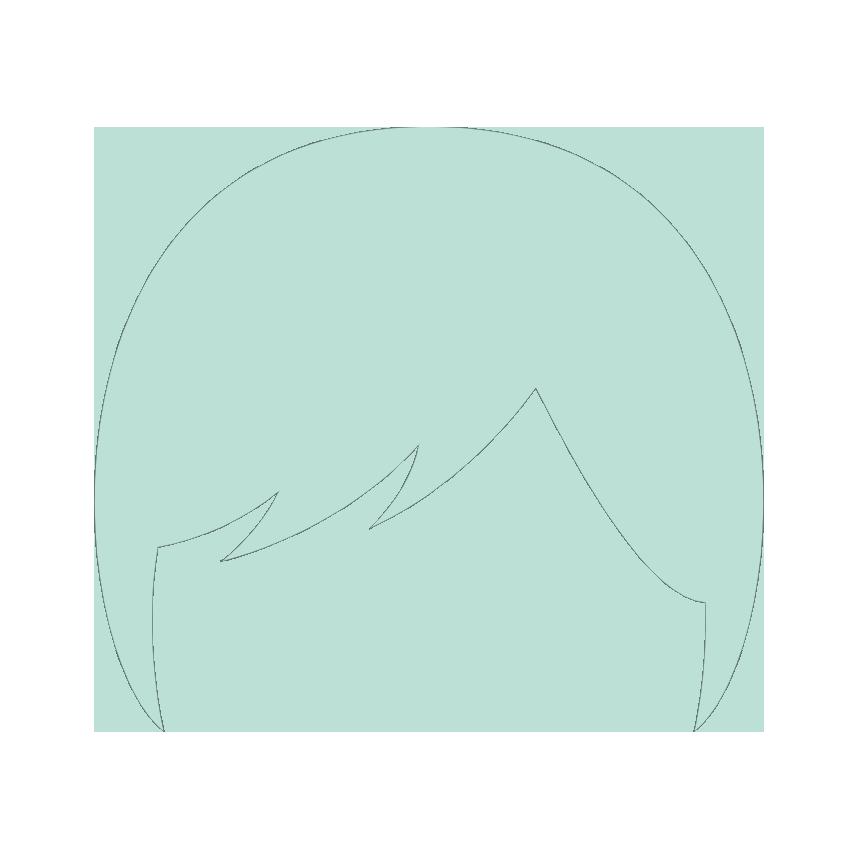 Pictogramme perruque femme